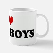 I Love TUBA BOYS Mug