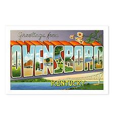 Owensboro Kentucky Greetings Postcards (Package of