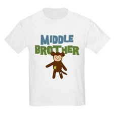 Middle Bro Monkey T-Shirt