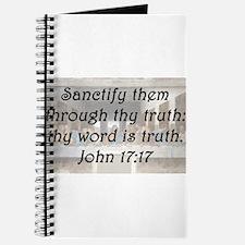 John 17:17 Journal
