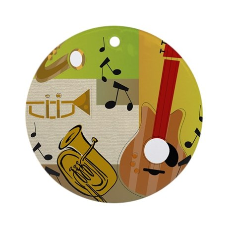 JAZZ Ornament (Round)