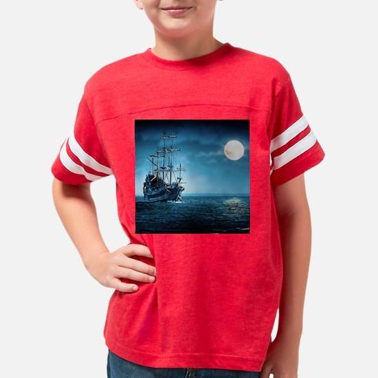 Pirate Ship Youth Football Shirt