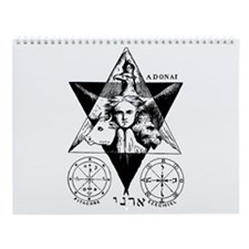 Ancient Occult Wall Calendar