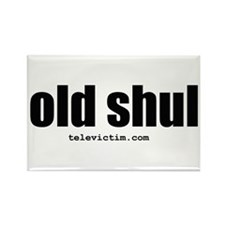 """old shul"" Rectangle Magnet"