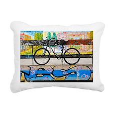 David Walker Rectangular Canvas Pillow