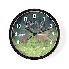 Deer in Velvet Wall Clock