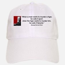 when a man... Baseball Baseball Cap