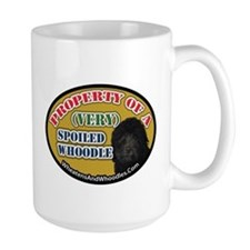 Property Of A Spoiled Whoodle Mugs