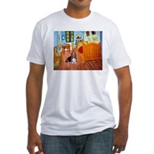 Room with a Basset Shirt