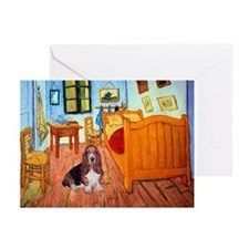 Room with a Basset Greeting Cards (Pk of 10)