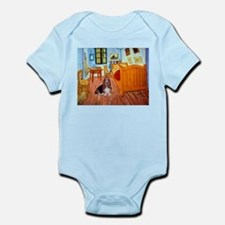 Room with a Basset Infant Bodysuit