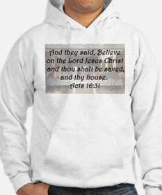 Acts 16:31 Hoodie