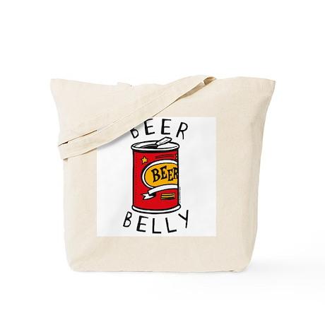 Beer Belly Tote Bag