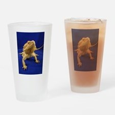 Bearded Dragon Drinking Glass