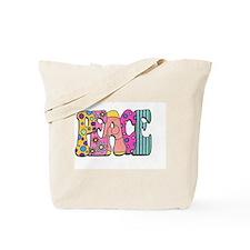 Cute World peace Tote Bag