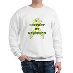 I Support My Grandson Sweatshirt