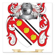 """Birmingham Coat of Arms Square Car Magnet 3"""" x 3"""""""