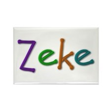 Zeke Play Clay Rectangle Magnet