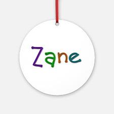 Zane Play Clay Round Ornament