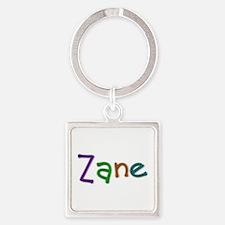 Zane Play Clay Square Keychain