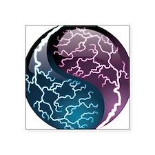Lightning Yin Yang - Balance - Power Sticker