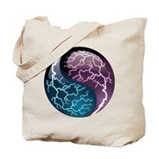 Lightning Yin Yang - Balance - Power Tote Bag