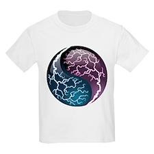 Lightning Yin Yang - Balance - Power T-Shirt