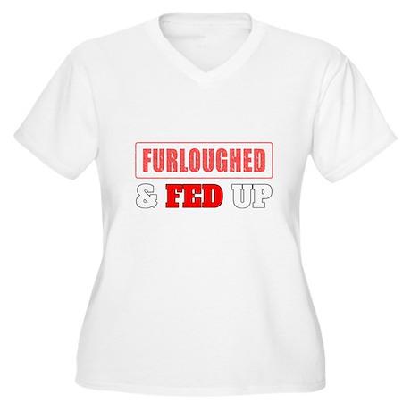 Furloughed Fed Up Plus Size T-Shirt