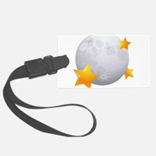 Moon - Night - Weather - Stars - Space Luggage Tag