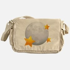Moon - Night - Weather - Stars - Space Messenger B