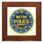 Nashville Police Framed Tile