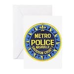 Nashville Police Greeting Cards (Pk of 10)