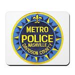 Nashville Police Mousepad