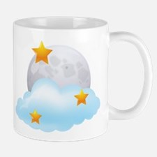 Moon - Night - Weather - Stars - Space Mug