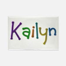 Kailyn Play Clay Rectangle Magnet