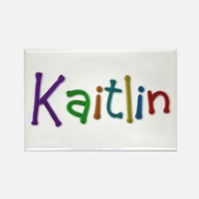 Kaitlin Play Clay Rectangle Magnet