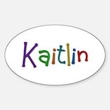 Kaitlin Play Clay Oval Decal