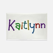 Kaitlynn Play Clay Rectangle Magnet