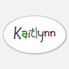 Kaitlynn Play Clay Oval Decal