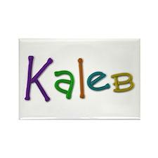 Kaleb Play Clay Rectangle Magnet