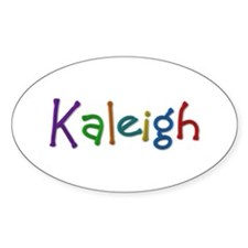 Kaleigh Play Clay Oval Decal