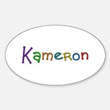 Kameron Play Clay Oval Decal