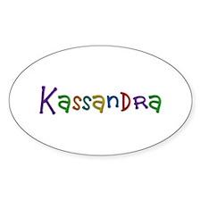 Kassandra Play Clay Oval Decal