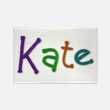 Kate Play Clay Rectangle Magnet