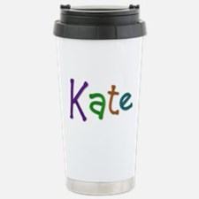 Kate Play Clay Stainless Steel Travel Mug