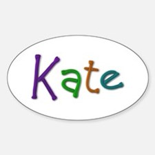 Kate Play Clay Oval Decal