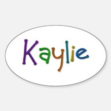 Kaylie Play Clay Oval Decal