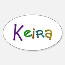 Keira Play Clay Oval Decal