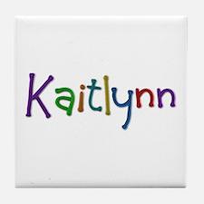 Kaitlynn Play Clay Tile Coaster