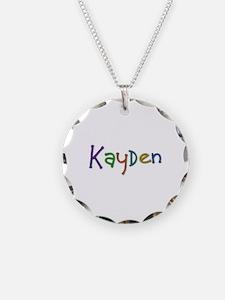 Kayden Play Clay Necklace
